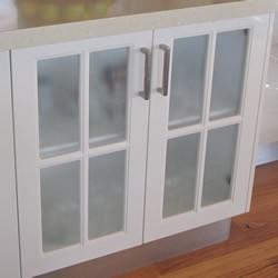 Glass insert doors