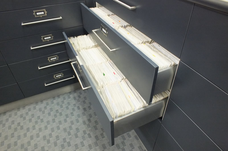Custom designed Filing systems