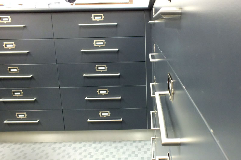 custom filing cabinets and systems