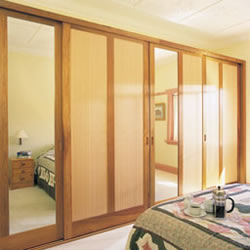 Framed wardrobe doors