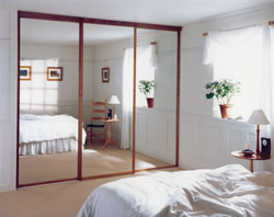 Mirror framed wardrobe doors