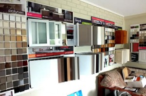 Kitchen showroom choices